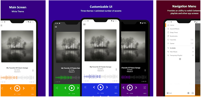 aplikasi player musik offline android