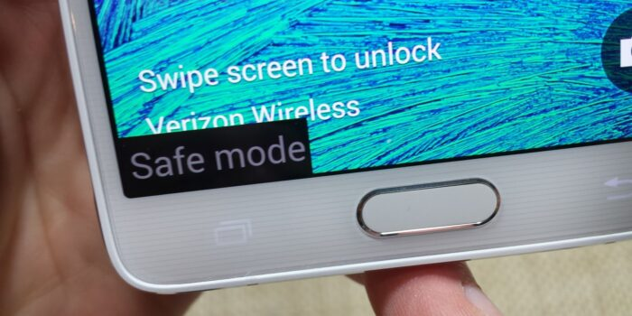 Safe Mode di Android
