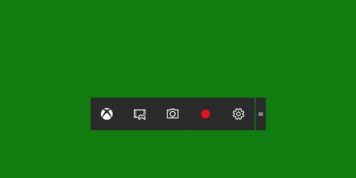 Fitur Game Bar windows 10