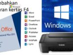 Menambah Ukuran Kertas Di Windows 10