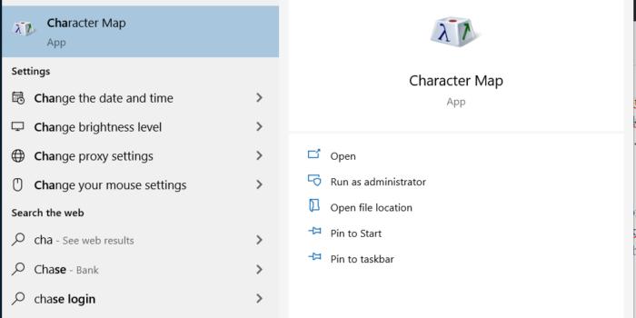 Pencarian yang Ada di TaskBar