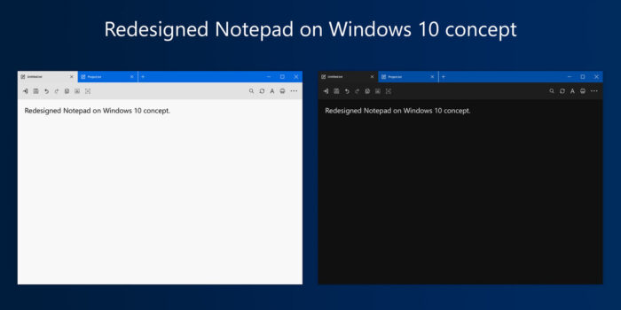 Notepad Windows 10